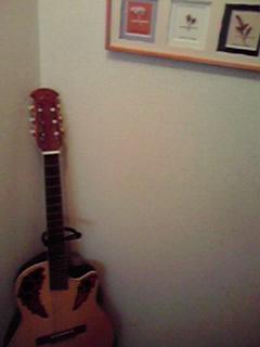 トイレにギター