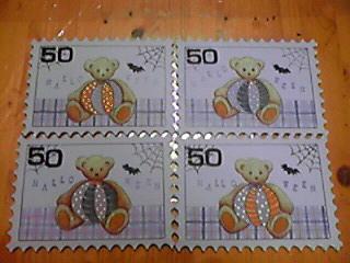 切手シートみたい♪