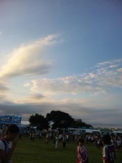ロックインジャパン2011 8<br />  月5日